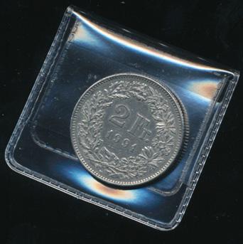 10 Stk Münz Taschen Klein Für Münzen Bis 40 Mm