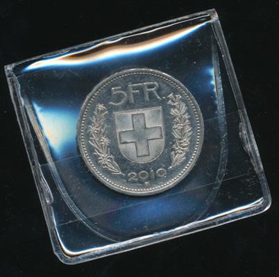 10 Stk Münz Taschen Gross Für Münzen Bis 46 Mm